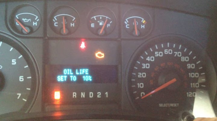 Oillifereset on Ford F Questions If Your Truck Cranks But Will
