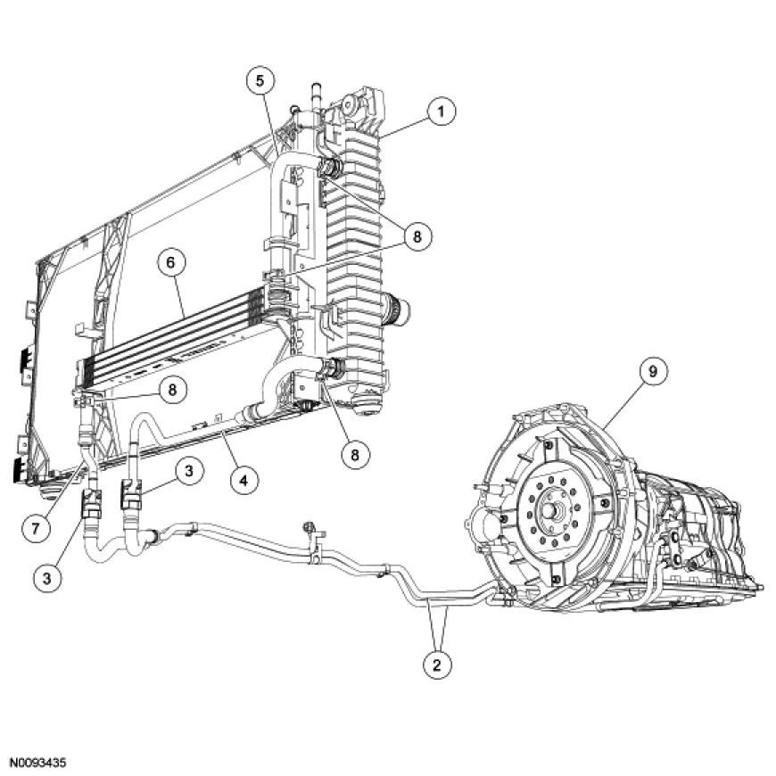 ford excursion cooling diagram