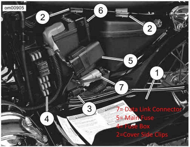 2014 street glide fuse box