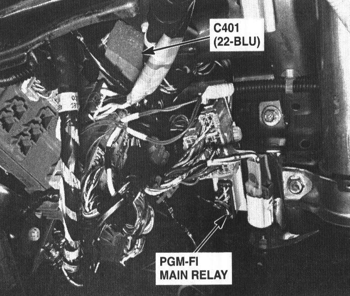 Honda Accord Engine Diagram Honda Civic Main Relay Solder Honda Cvcc