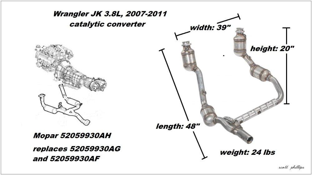 medium resolution of figure 1 3 8l catalytic converter assembly
