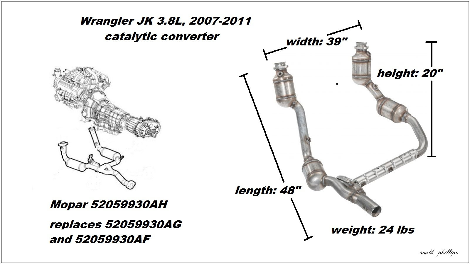 hight resolution of figure 1 3 8l catalytic converter assembly