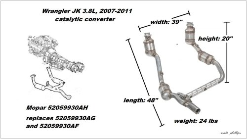 small resolution of figure 1 3 8l catalytic converter assembly