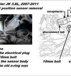 camshaft position sensor removal  [ 1601 x 901 Pixel ]