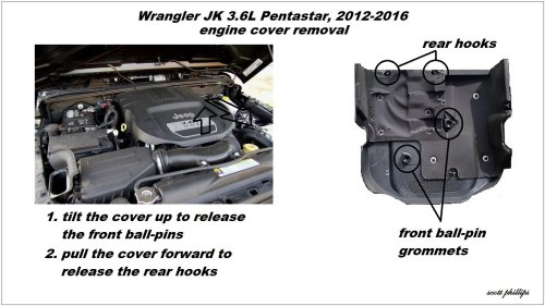 small resolution of figure 5 engine cover removal