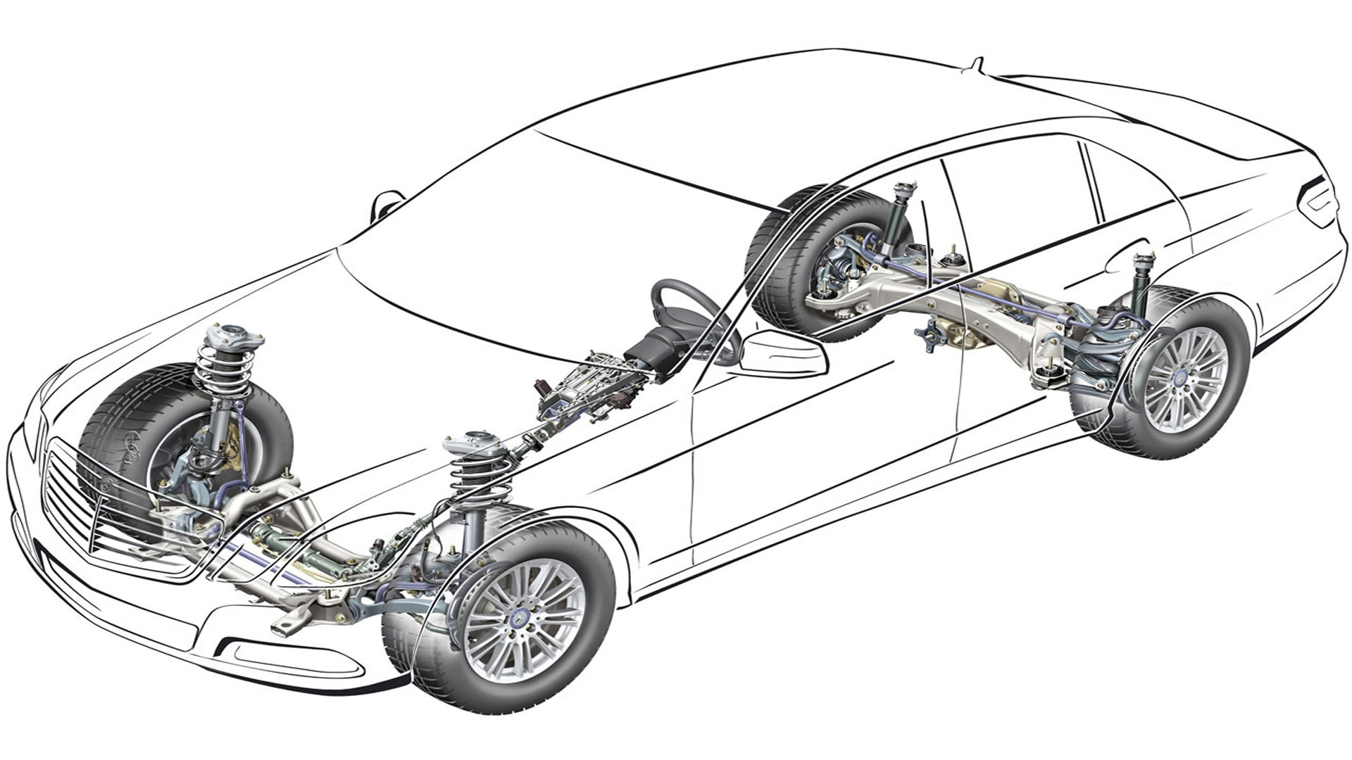 Mercedes-Benz E-Class and E-Class AMG: How to Replace