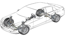 Mercedes-Benz E-Class w211 w212 How to Replace Wheel Hub