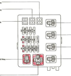 fuse box label door for toyota 4runner 2005 2005 toyota 2007 toyota tacoma wiring diagram toyota [ 1152 x 894 Pixel ]