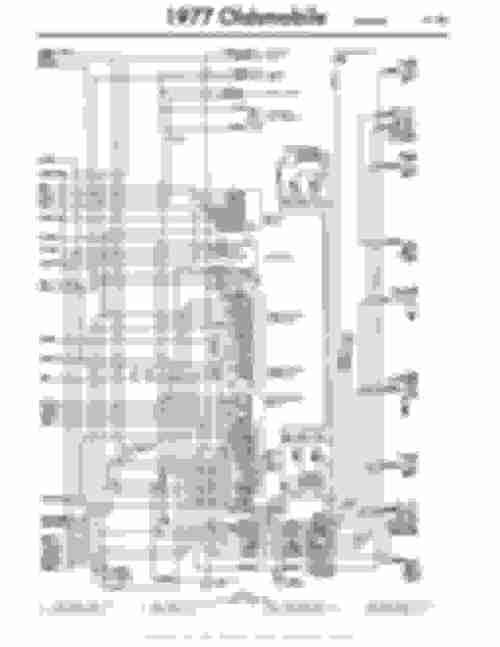 small resolution of 77 toronado wiring diagram classicoldsmobile com1977 toronado chassis wiring page 2
