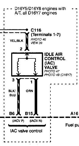 honda iacv wiring diagram