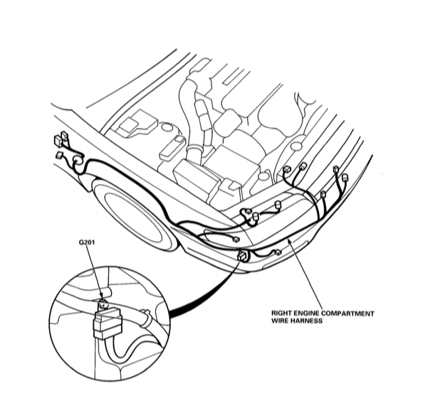 1996 Honda Accord Speedometer Wiring Diagram