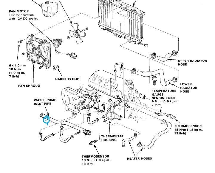 Honda Blue Coolant