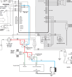 c2 pin 55 would be connected directly to ground bypassing the low pressure switch protection since this protection is already provided by the trinary  [ 1016 x 835 Pixel ]