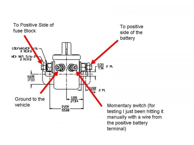 12 volt solenoid wiring diagram 4 post