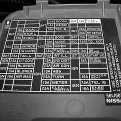 2002 Nissan Altima Fuse Diagram 2001 Jeep Wrangler Radio Wiring 97 Se- 12v Outlet Or Cig Lighter ? - Maxima Forums