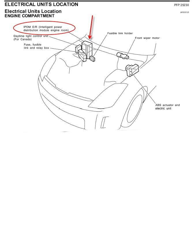 2004 Nissan 350z Fuse Box Diagram : 33 Wiring Diagram