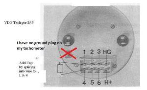 1983 944 Tachometer, Clock, and Loose Wires  Rennlist