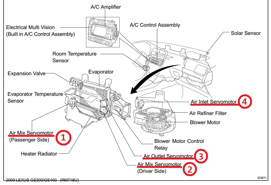 Which Servo Motor To Replace Or Rebuild