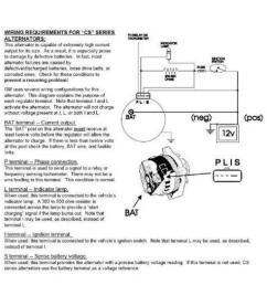 121 gm 10si 12si 1wire to 3wire alternator wiring kit ebay schema cs alt wiring diagram [ 1200 x 750 Pixel ]