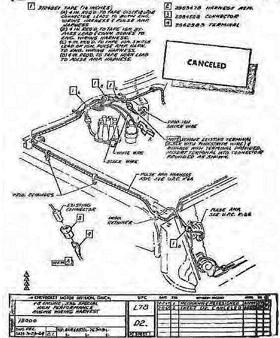 65 Coupe, K66 Transistor Ignition Amp Mounting Location