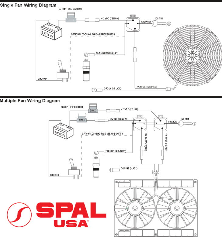spal relay wiring diagram