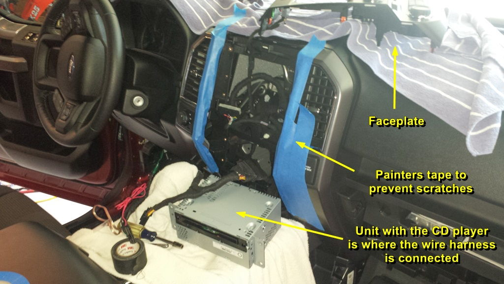 2016 f150 sony wiring diagram 2001 chevy suburban parts 2015 xlt screw audio system upgrade log (sync w/nav, no sony) - ford forum community ...