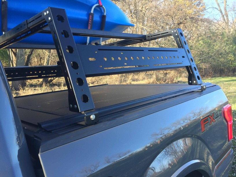 kb voodoo premium bed rack ford f150