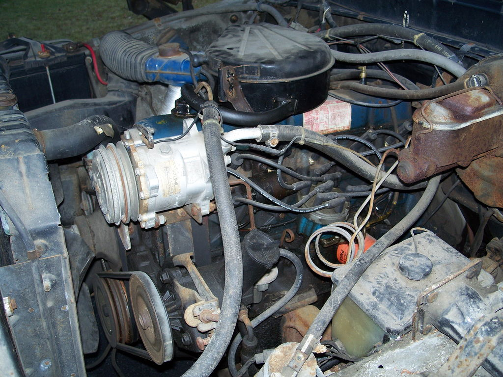 351 Ford Engine Wiring Diagram Show Off Your Engine Compartment Page 4 Ford Truck