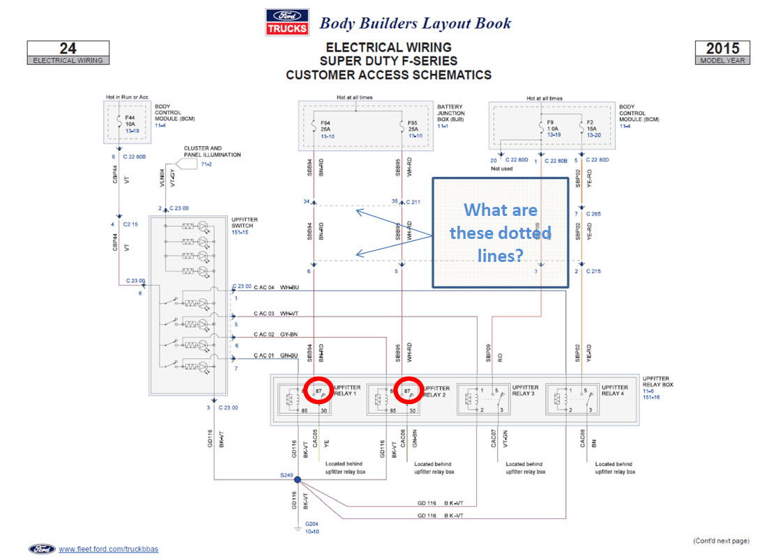 2008 ford trailer plug wiring diagram general electric induction motor upfitter switches f350