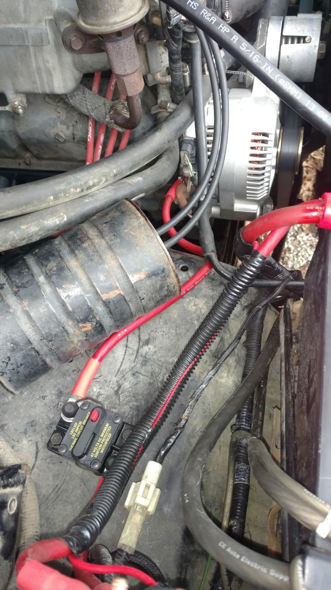 350 Alternator Wiring Diagram On Ford 3g Alternator Wiring Diagram