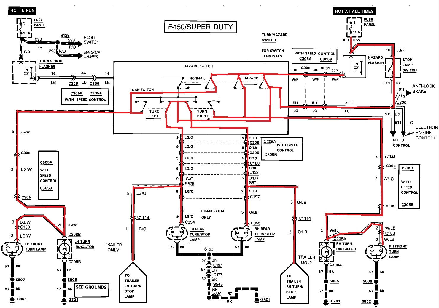 1990 ford f150 wiring diagram swimming pool filter system electrical gremlins c350 f350 truck