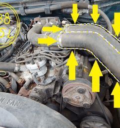 1992 ford f 350 460 engine fuel injector wiring diagram air intake hose 1988 f250 460 efi ford truck [ 1600 x 1200 Pixel ]