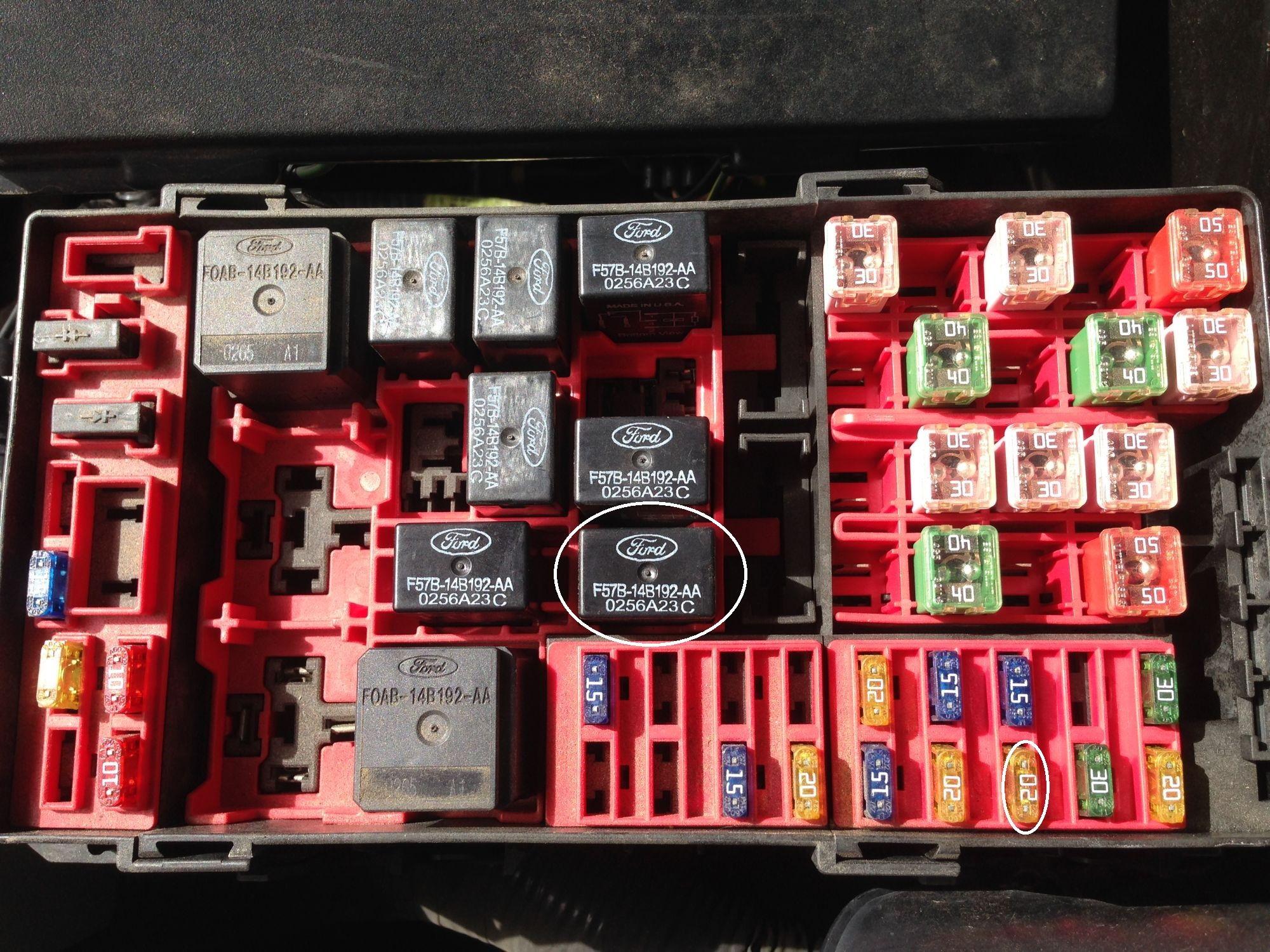 2007 ford f150 trailer plug wiring diagram renault clio seat airbag gmc sierra running light fuse autos post
