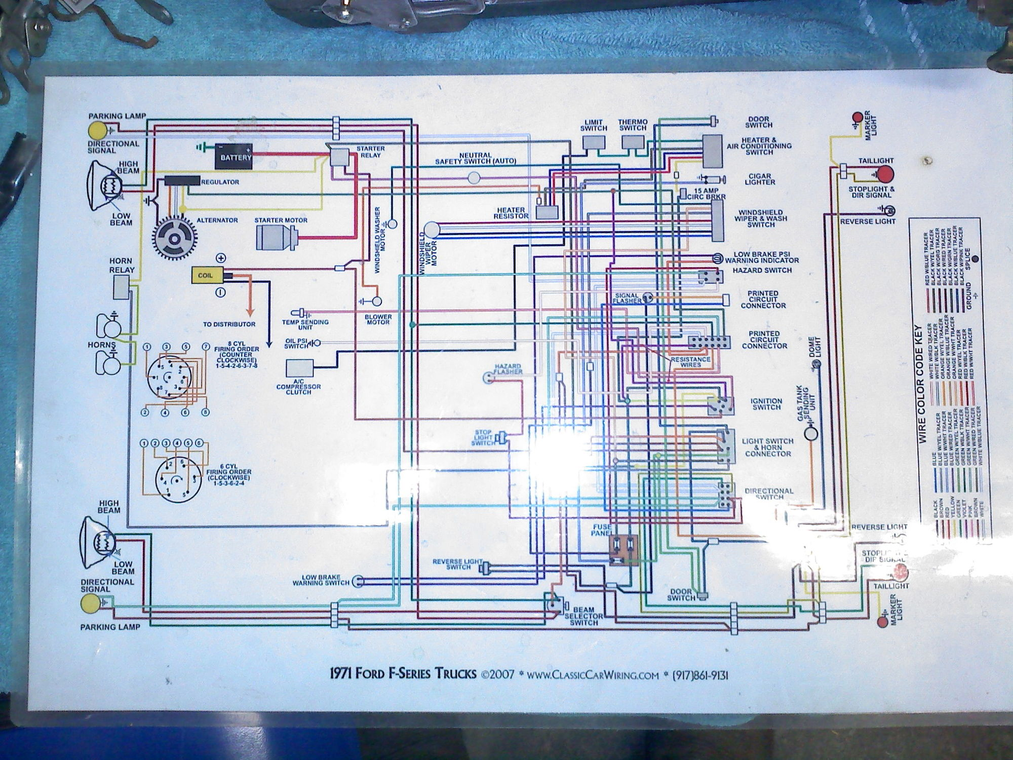 1971 Ford F100 Wiring Diagram