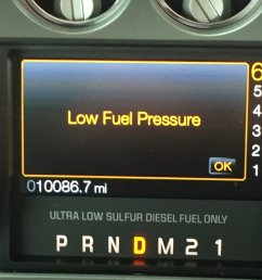 i assume it s the fuel system starving calling the dealer now but going to continue pressing on cautiously until the truck tells me otherwise  [ 1128 x 1504 Pixel ]