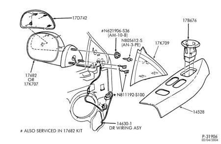 1999 Ford F 250 Power Mirror Wiring Diagram