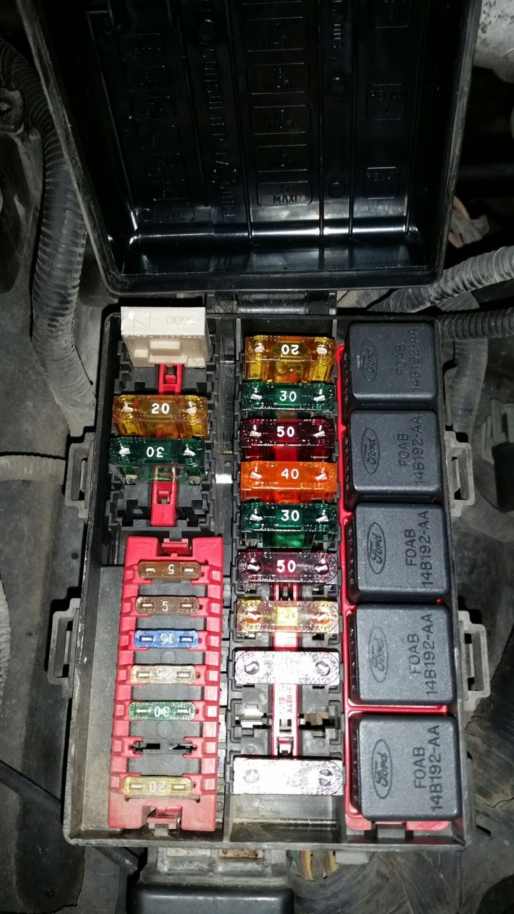 hight resolution of 96 f150 4 9 has spark fuel and will crank but no start ford 1995 1995 f150 fuse box under hood
