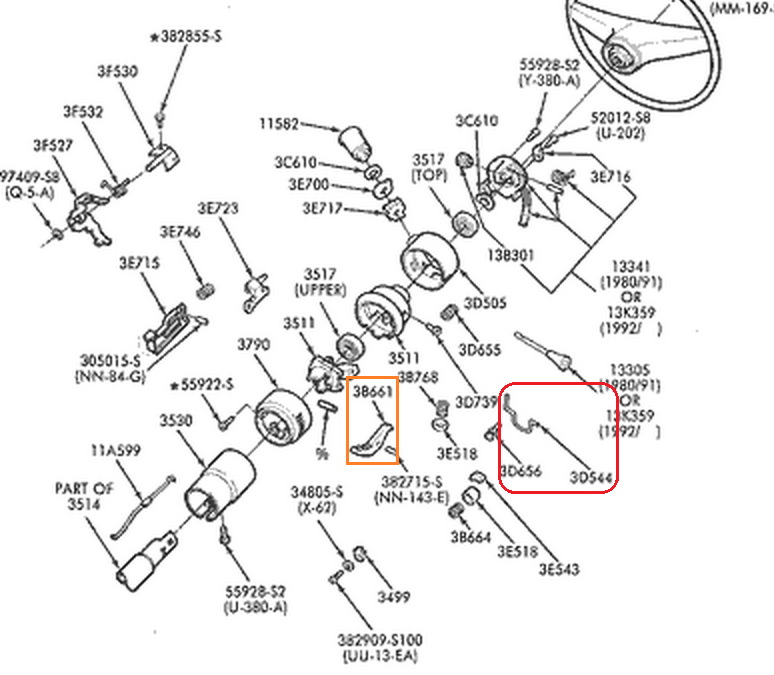 1964 Chevy Wiring Diagram Besides Gm Steering Column 1970