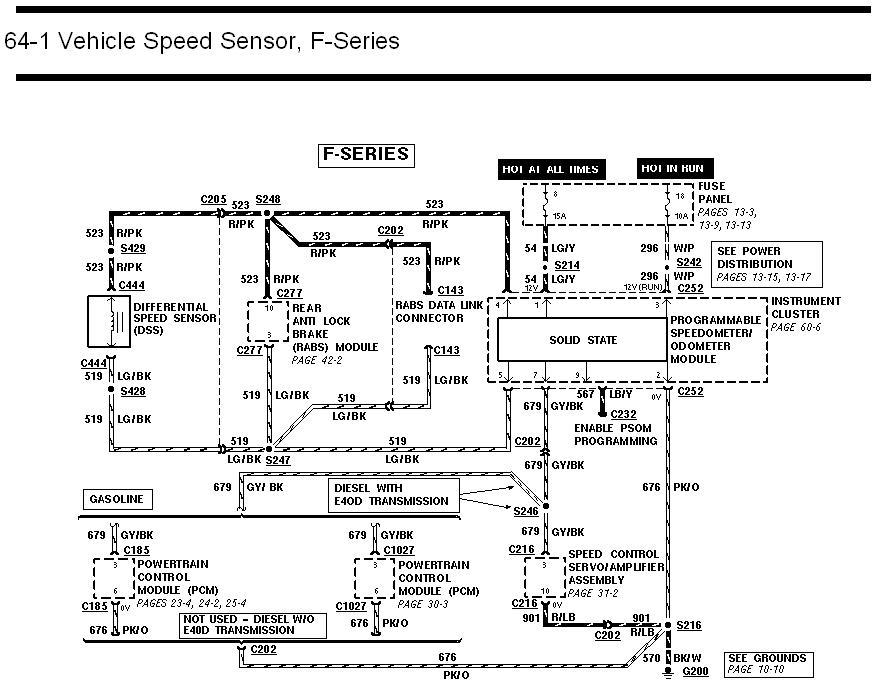 1992 f150 wiring diagram vss