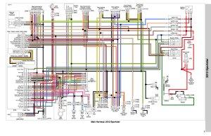 2009 Harley Sportster Wiring Diagram   Wiring Library