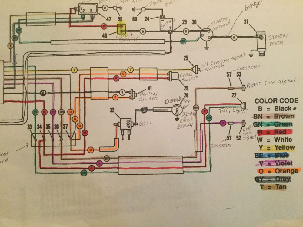 medium resolution of 1993 flhs wiring diagram wiring library 1964 flh wiring diagram