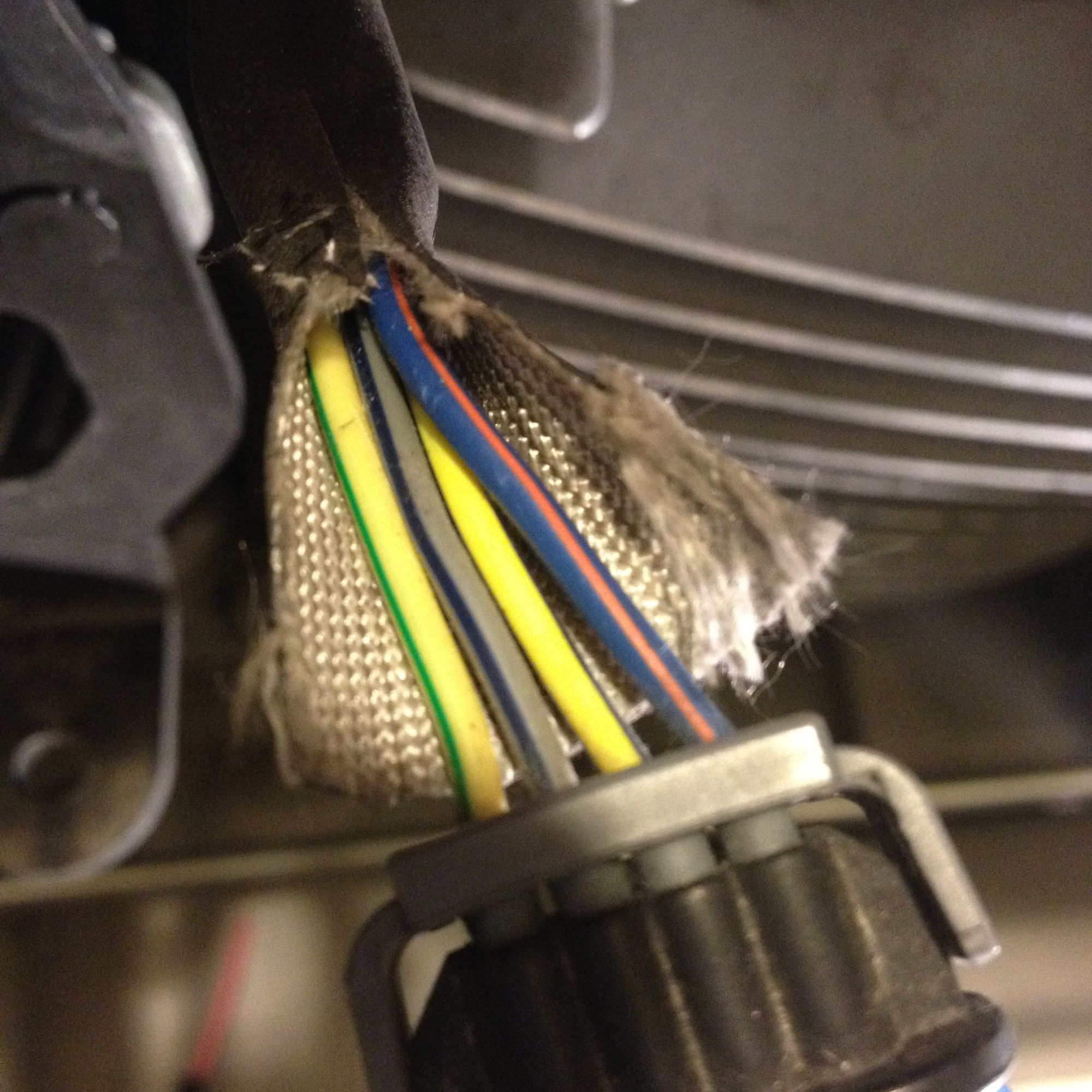 hight resolution of i attach the positive to the lights fuse and the pink to the coil front cylinder according to the service manual is the blue orange cable all the way to