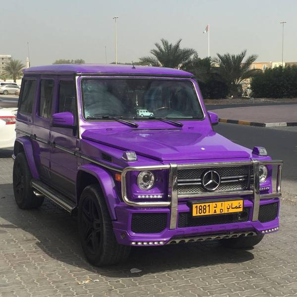 G63 Amg Purple - Year of Clean Water