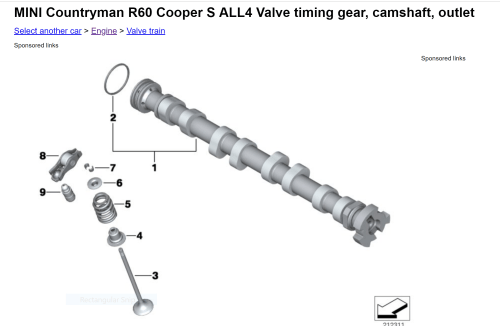 small resolution of the proof is in the camshaft the lobes for 1 4 are 180 degrees apart they are 90 degrees offset from 2 3