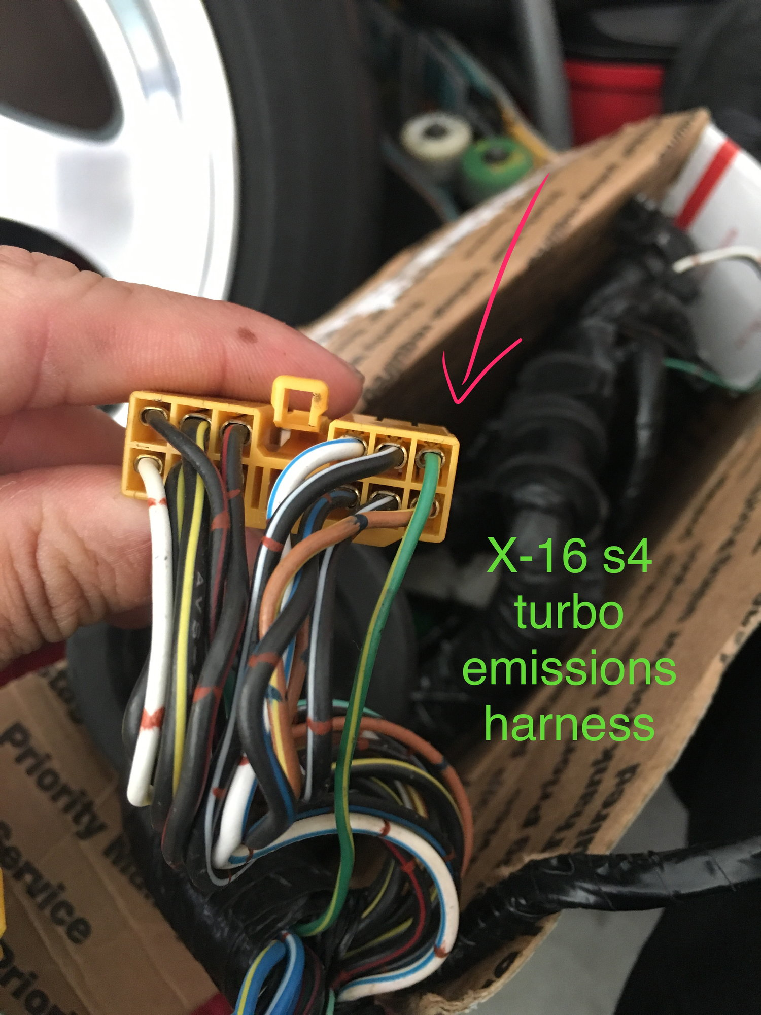 hight resolution of  within the 2 connectors tell you what each wire goes to because rats nest was removed and power steering as well so i would like to de pin those
