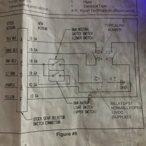 small resolution of the wiring diagram here illustrates how you need to hook up the supplied relay