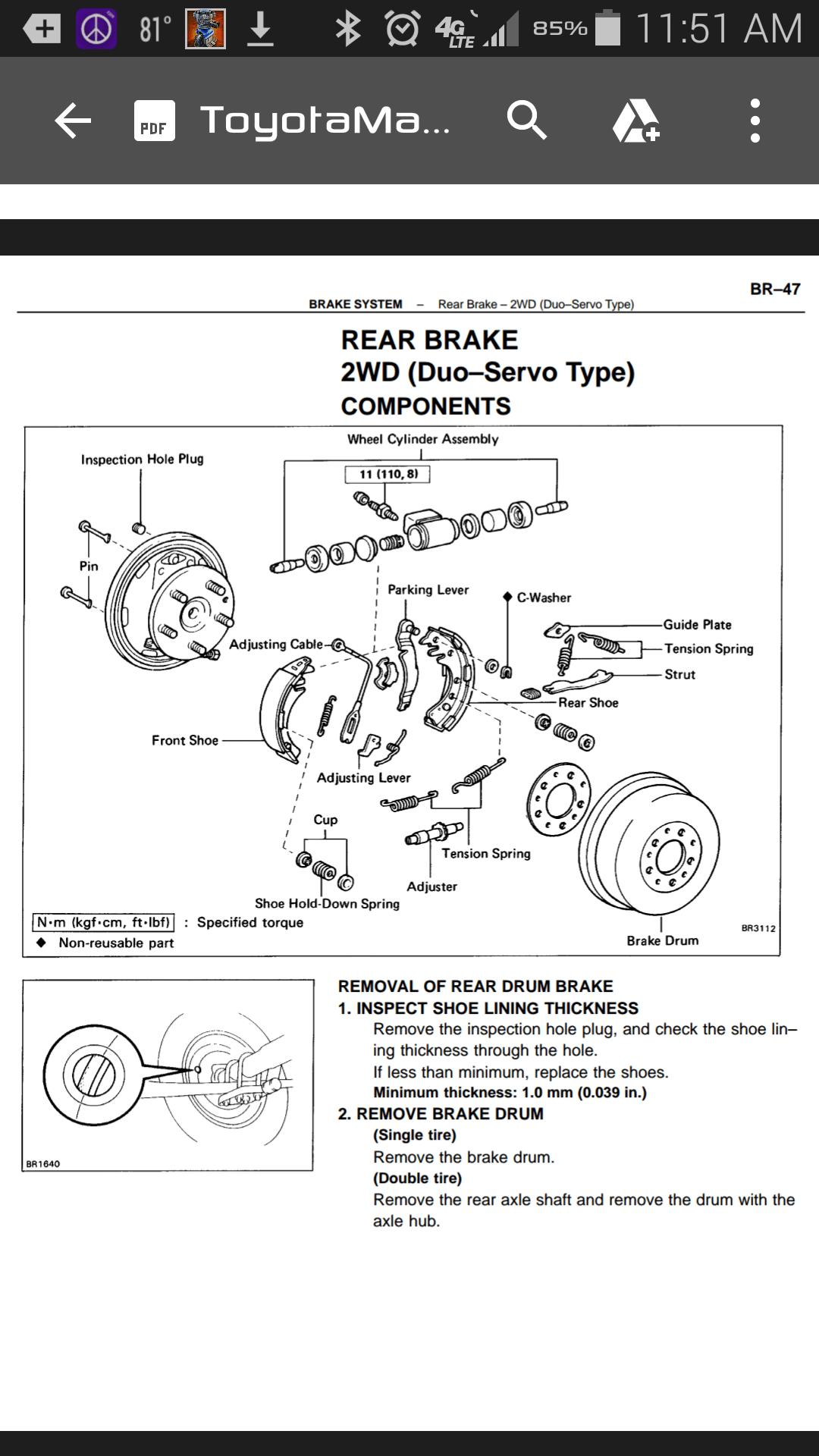 Drum Brake Tools