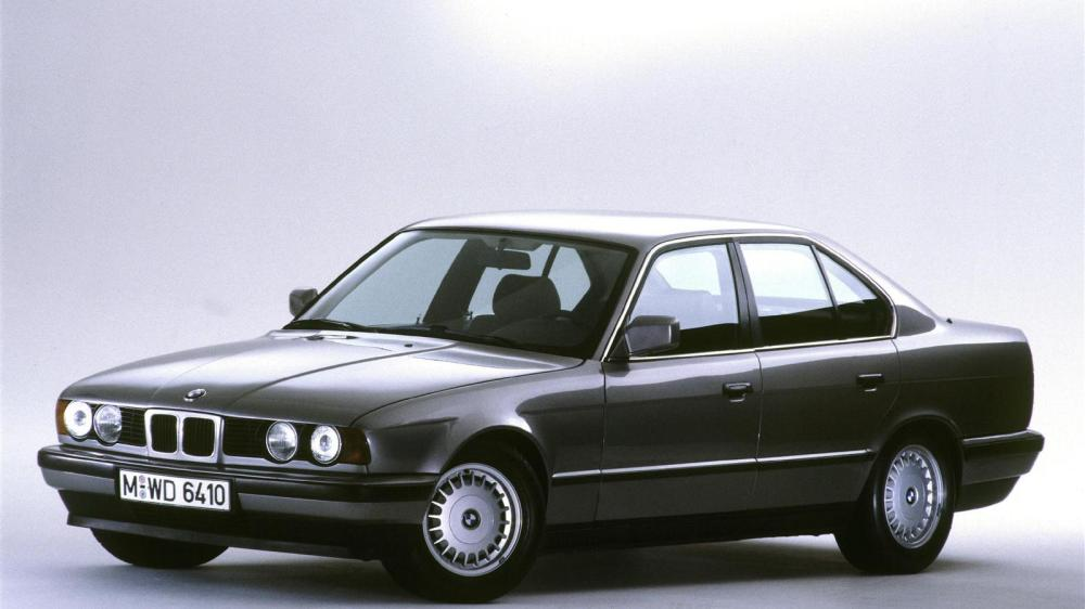 medium resolution of bmw celebrates five generations of the 5 series