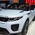 2017 Land Rover Range Rover Evoque Convertible Preview Video