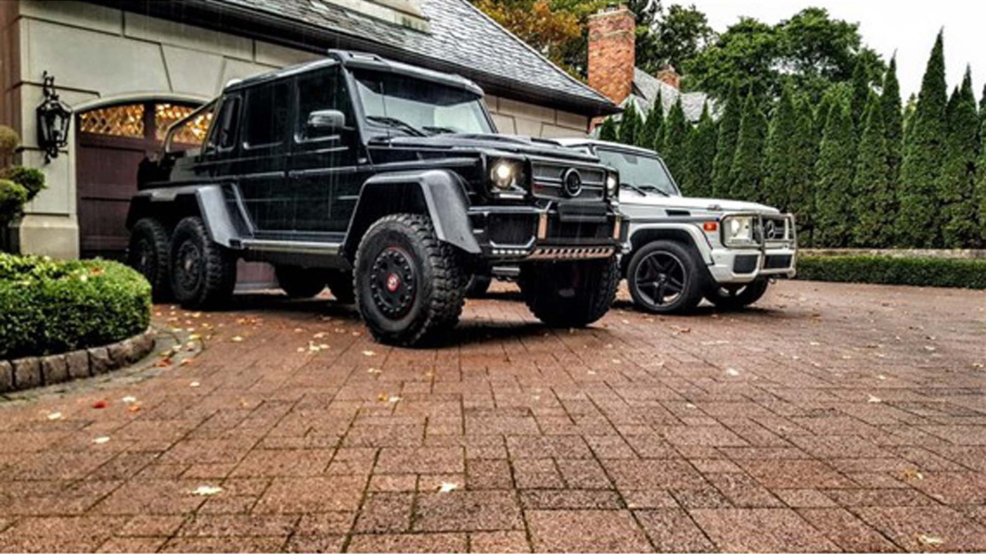 This Mercedes Benz Brabus G63 6x6 Could Be Yours In The Us For 135m